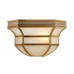 brass colour/metal glass/brass 1*40W E27 IP20 - MW-HANDEL