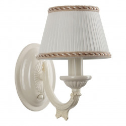 ivory color/metal lampshade 1*60W E14 - MW-HANDEL