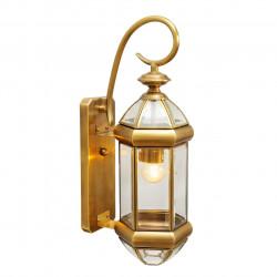 brass/glass 1*60W E27 IP23