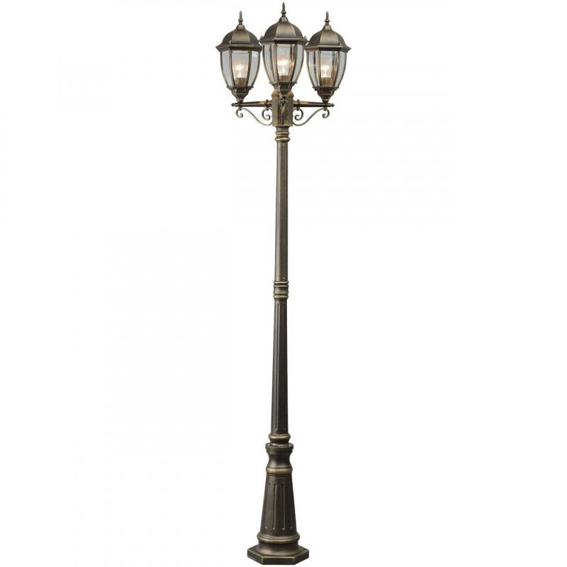 lampadaire de jardin 3 t tes mw handel seulement 214 38. Black Bedroom Furniture Sets. Home Design Ideas
