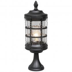 black colour/metal relief glass 1*95W E27 IP23 - MW-HANDEL