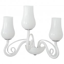 white color/metal glass 3*40W E14 - MW-HANDEL
