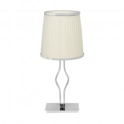 chrome color/metal                         lampshade 1*60W E27 - MW-HANDEL