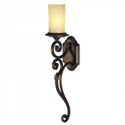 dark brown color/hammered iron glass 1*60W ?27 - MW-HANDEL