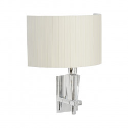 chrome color/metal                                 clear crystal    lampshade 1*40W E14 - MW-HANDEL