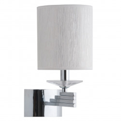 chrome colour/metal crystal/lampshade 1*40W E14 - MW-HANDEL