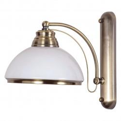 antique brass color/metal glass 1*60W ?27 - MW-HANDEL