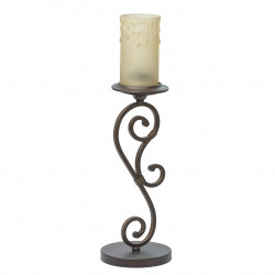 dark brown color/metal glass 1*60W E27 - MW-HANDEL