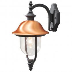 black colour/metal, copper acrylic 1*95W E27  IP44 - MW-HANDEL