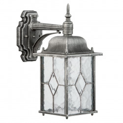 black+silver color/metal glass 1*95W E27  IP44 - MW-HANDEL
