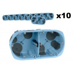 Lot 10 Boîtes doubles XL...