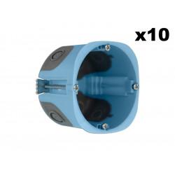 Lot 10 Boîtes  XL AIR'metic diam 67 profondeur 50mm (52063) - EUROHM