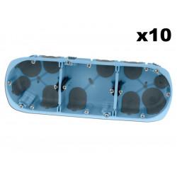 Lot 10 Boîtes triples XL...