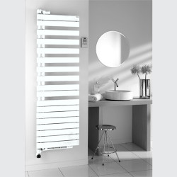 Sèche-serviette Régate Twist air chauffage central pivot gauche - THERMOR