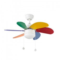 Ventilateur de plafond pour enfant Faro Palao (33179) - Faro
