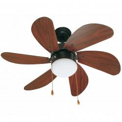 Ventilateur de plafond marron PALAO (33185) - Faro