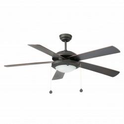 Ventilateur de plafond marron MANILA (33192) - Faro