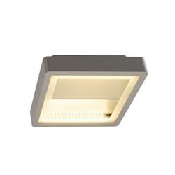 INDIGLA WING gris argent 2x36 SMD LED 15W 3000K IP54 - SLV