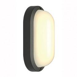 TERANG 2 XL applique et plafonnier ovale gris argent 22W LED 3000K - SLV