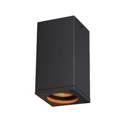 THEO OUT plafonnier carré anthracite GU10 max 35W - SLV