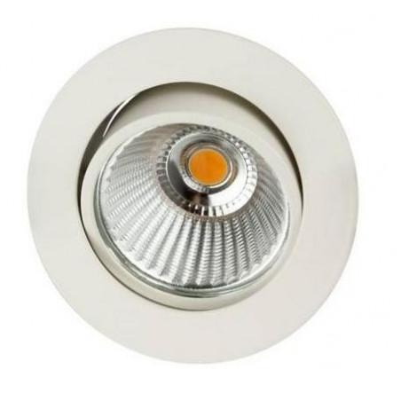 Spot LED Rond 6W 3000K Blanc - INDIGO