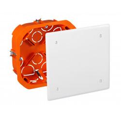 Boîte de dériv. encastrée PL 100x100x40mm - EUROHM