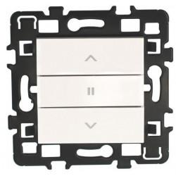 Interrupteur de volets roulants 3 positions Esprit (61823) - EUROHM