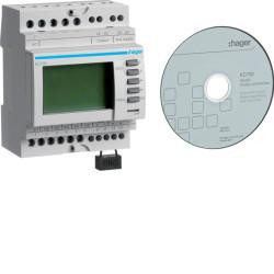 Concentrateur d impuls RS485 Jbus-Modbus (HAG EC700) - HAGER