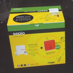 Pack alarme Sepio PN17 - HAGER