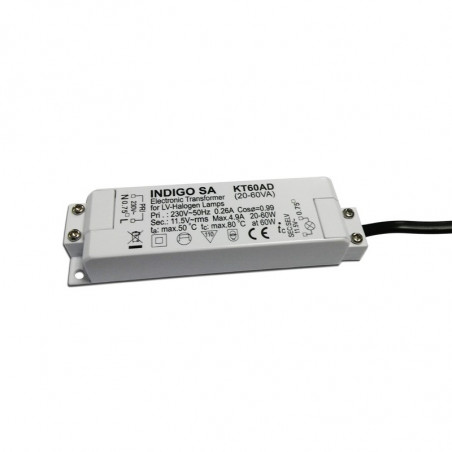 Transformateur 12V max. 60W dimmable (KT60AD)