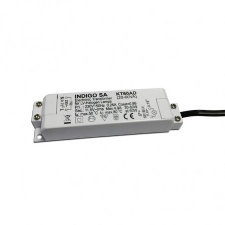 Transformateur 12V max. 60W dimmable - INDIGO