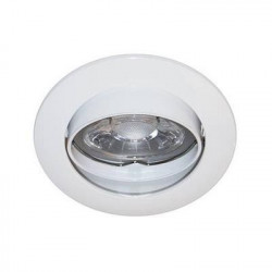 Spot encastre orientable GU10 230V Blanc