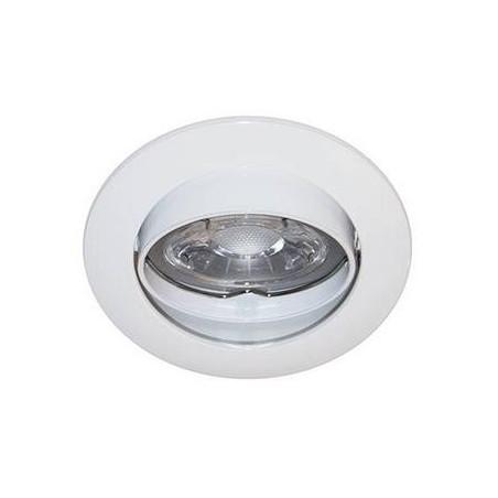 Spot encastre orientable GU10 230V Blanc - INDIGO