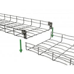 6 chemins de cable 3m - 150X65 - BASOR