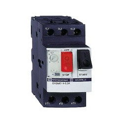 Disjoncteur Moteur Gv2Me 6-10A 3P 3D Déclencheur Magnétothermique (GV2ME14) - SCHNEIDER