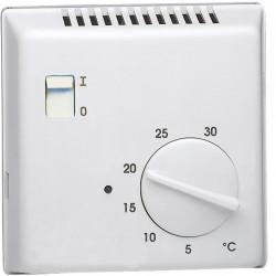 Thermostat ambiance électron saillie chauf eau ch contact inv entrée abaiss 230V - HAGER