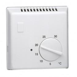 Thermostat ambiance électronique saillie chauf eau chaude sonde séparée 230V (25505) - HAGER