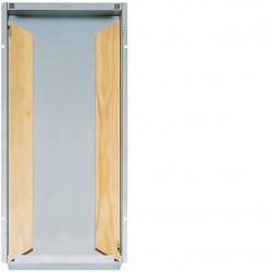 Bac encastrement pour GD413A + bloc / panneau (GE413B) - HAGER