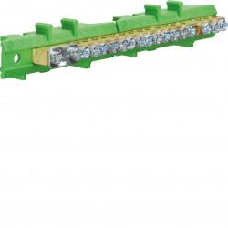 Barrette terre 1x25+8x16+8x10 (KM17E) - HAGER