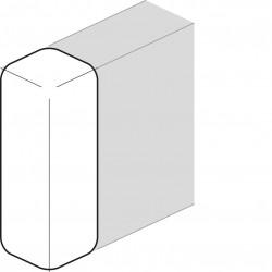 Embout queraz enclipsage direct pour GBD50131 RAL 9010 blanc paloma (L43939010) - HAGER