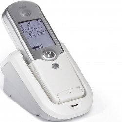 Interphone combiné intérieur radio avec touches/écran + support + bloc sect EU (LCA01F) - RUPTURE