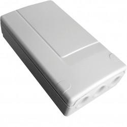 Récepteur radio 1 contact O/F, 230V, IP55, pour commander des automatismes (LDG01X) - HAGER
