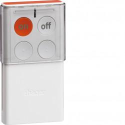 Télécommande avec retour d'état LS, 4 touches (RLF444X) - HAGER