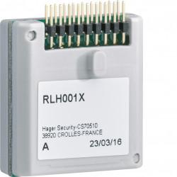 Carte mémoire multilingue sepio radio (RLH001X) - HAGER