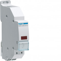 Voyant LED rouge 230VAC QC passage de barre (SVS122B) - HAGER