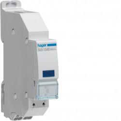 Voyant LED bleu 230VAC QC passage de barre (SVS124B) - HAGER