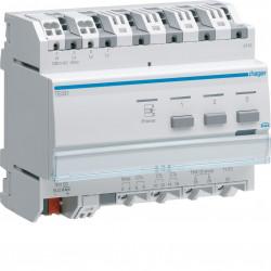 Indicateur de consommation électrique  KNX (TE331) - HAGER