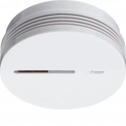 Détecteur avertisseur autonome de fumée (DAAF) pile lithium 10 ans (TG600AL) - HAGER