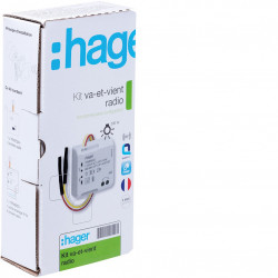 Kit va et vient toutes charges KNX radio (TRK150M) - HAGER