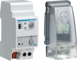 Interrupteur crépusculaire + sonde (TXA026) - HAGER